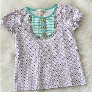 Matilda Jane shirt size 6